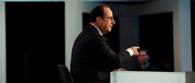 François Hollande sur TF1, jeudi soir.