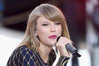 La jeune chanteuse Taylor Swift, la nouvelle coqueluche des Américains, qui est parvenus à vendre plus d'un million de disques en une semaine. ©Jamie McCarthy/Getty Images/AFP