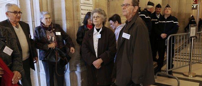 Le procès des victimes de l'hôpital d'Épinal, à Paris, le 12 novembre 2014.