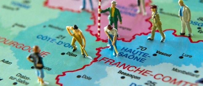 L'Assemblée a rétabli une carte avec l'Alsace groupée à la Lorraine et à la Champagne-Ardenne.
