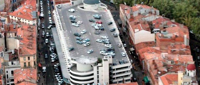 Le parking Victor-Hugo