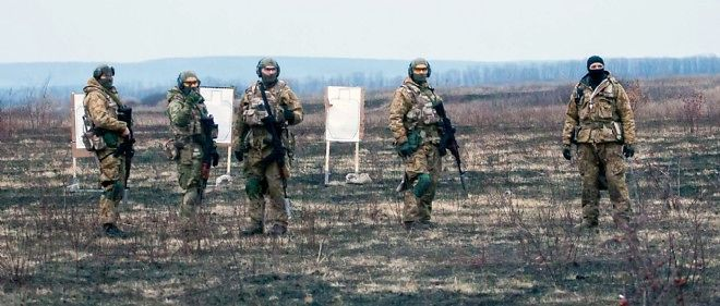 Exercice de l'armée ukrainienne.