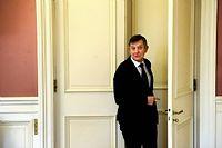 Le Secrétaire général de l'Élysée et fidèle de François Hollande, Jean-Pierre Jouyet. ©Marc CHAUMEIL / Divergence pour Le Point