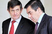 Jean-Pierre Jouyet et François Fillon, ici en 2008. ©Gérard Cercles