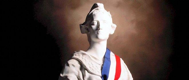 Marianne, symbole de la République.