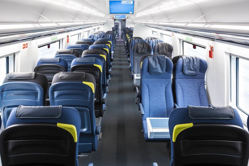 La classe standard du nouvel Eurostar ©  Eurostar