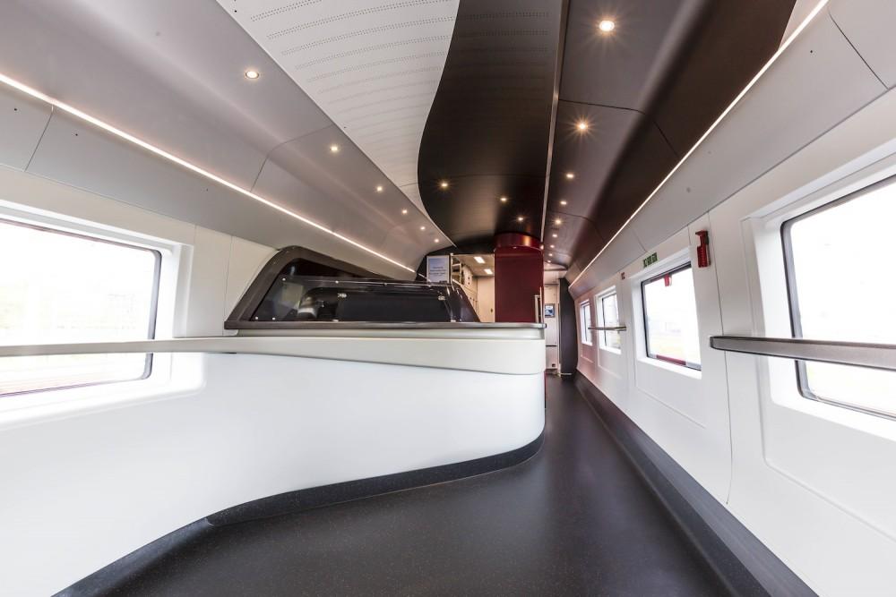 La vopiture-bar du nouvel Eurostar ©  Eurostar