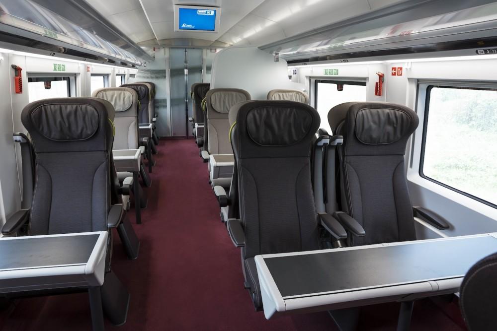 La classe Premier du nouvel Eurostar