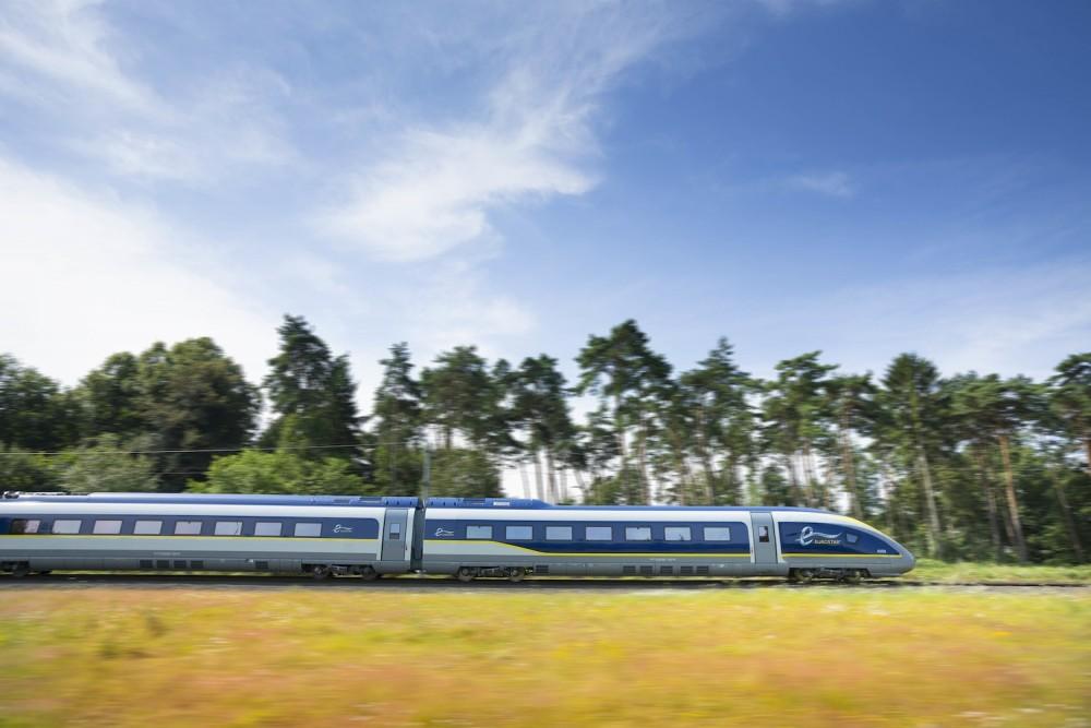 Les nouvelles rames de l'Eurostar iront au-delà de Paris ©  Eurostar