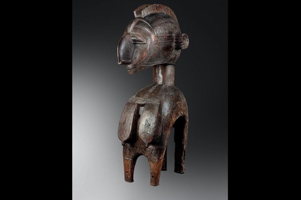 Masque d'épaule nimba (Baga en Guinée)