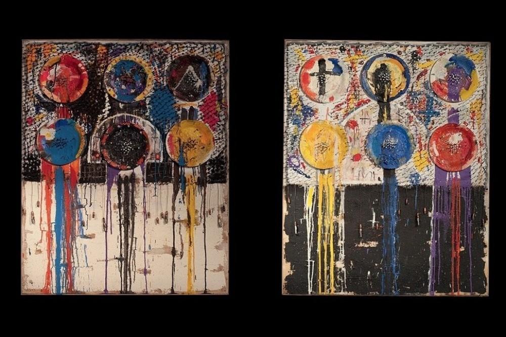 """Indigestion I et Indigestion II"" (2006) de Julien Vignikin"