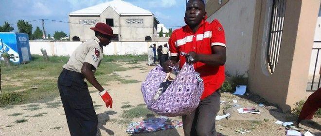 Les populations nigérianes fuient devant la menace des islamistes de Boko Haram.