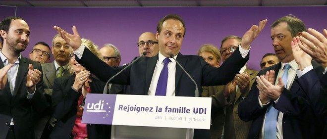 Jean-Christophe Lagarde, nouveau président de l'UDI.