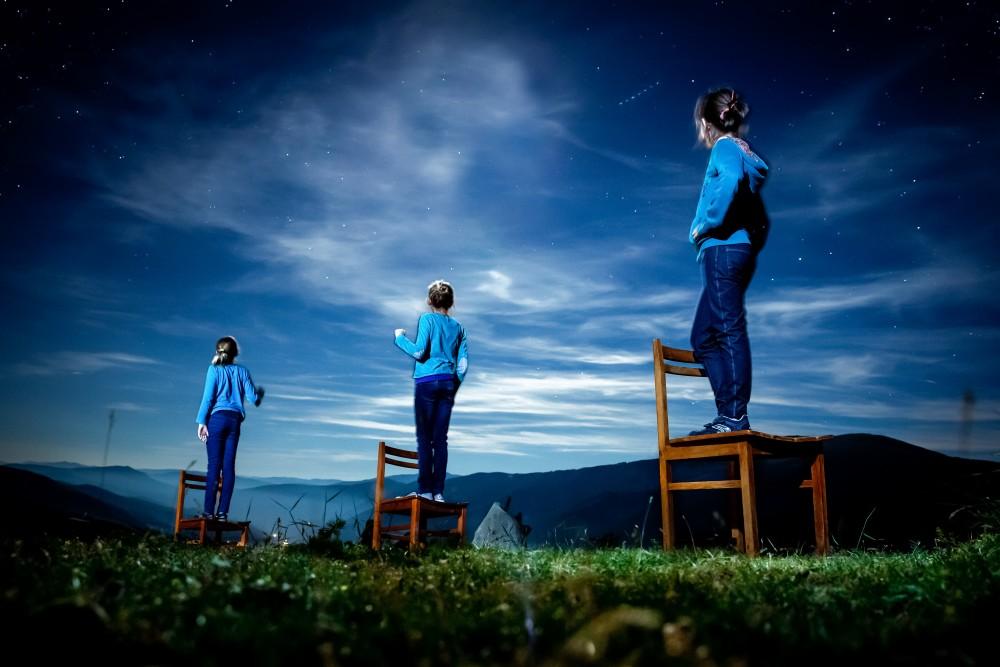"""""""La tête dans les étoiles"""", de Florence Levillain, hommage à Sabine Weiss ©  Florence Levillain / Signatures"""
