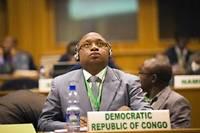 Dr. Felix Kabange Numbi Mukwampa, ministe de la Santé de la RD Congo.