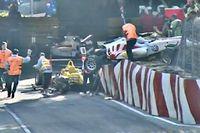 L'accident, survenu en début de course, a embouteillé toute la piste. Le Français Esteban Ocon faisaient partie des accidentés. Aucun blessé n'a été déploré.