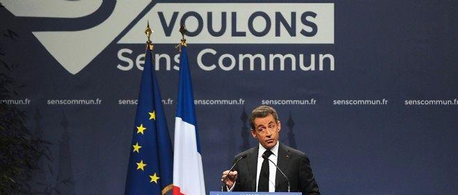 Devant les militants de Sens commun, Nicolas Sarkozy s'est prononcé pour une abrogation de la loi Taubira.