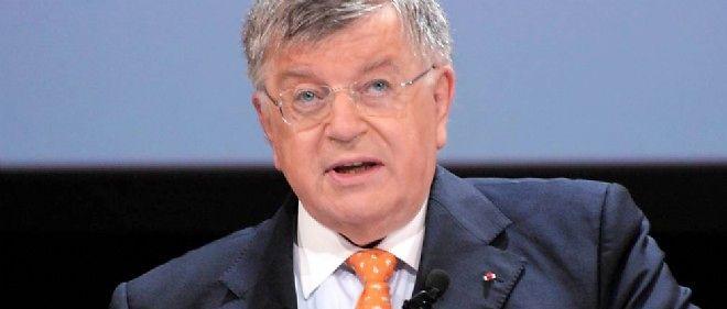 Didier Lombard, alors président de France Télécom, en 2010.