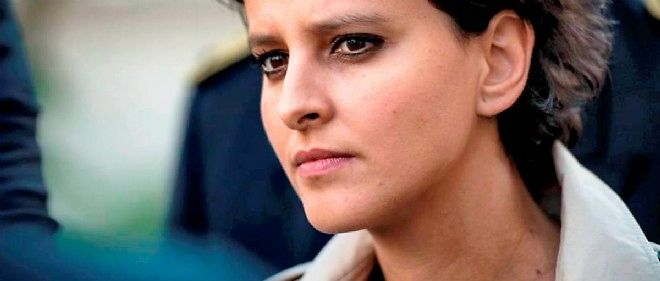 Najat Vallaud-Belkacem, ministre de l'Éducation nationale.