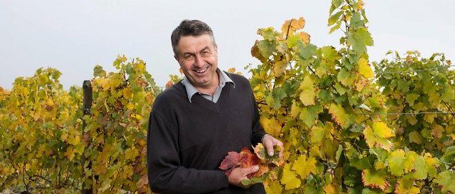 Jean-François Arnaud, viticulteur récoltant du Domaine du Poyet.