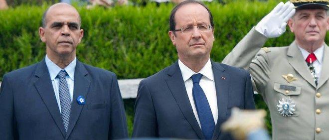 Kader Arif et François Hollande, ici en 2012.