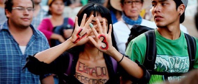 Le drame d'Iguala a souligné l'absence d'ordre public et le krach de l'État de droit.