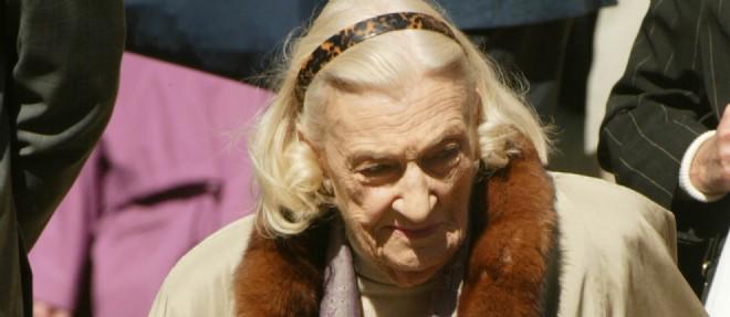 Hélène Duc, ici en mars 2003. ©THOMAS COEX / AFP