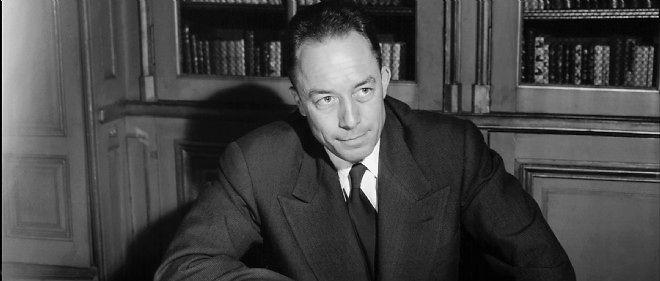 Albert Camus à qui l'Académie suédoise vient d'attribuer le prix Nobel de littérature en 1957.