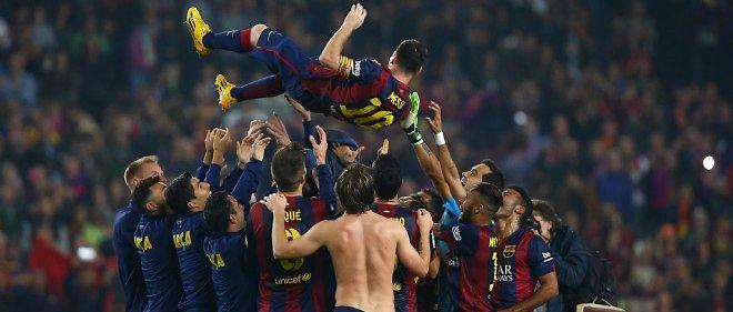 Lionel Messi a inscrit un triplé qui lui permet de siéger seul en tête des meilleurs buteurs en C1.