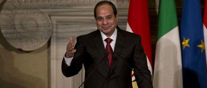 Le président égyptien Sissi.