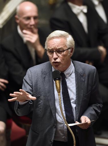 Le ministre du Travail François Rebsamen le 12 novembre 2014 à l'Assemblée nationale à Paris © Eric Feferberg AFP/Archives
