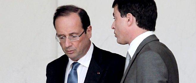 François Hollande et Manuel Valls restent largement impopulaires.