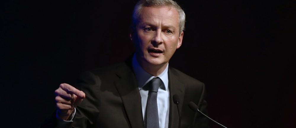 Bruno Lemaire fait tout pour remporter la tête de l'UMP...