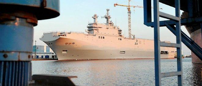 Le Mistral à quai à Saint-Nazaire. Les enquêteurs n'ont relevé aucune trace d'effraction.