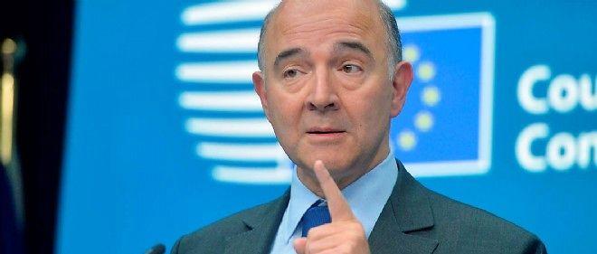 """Pierre Moscovici a rendu son verdict : la Commission estime que la France n'a pas pris les """"mesures effectives"""" pour réduire son déficit structurel en 2014."""