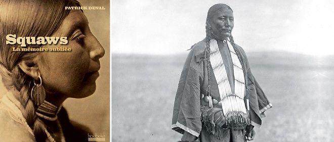 Elles ont laissé le souvenir de leur courage indomptable, comme cette Indienne brûlée du groupe lakota. Photographie de Edward S. Curtis, 1907.