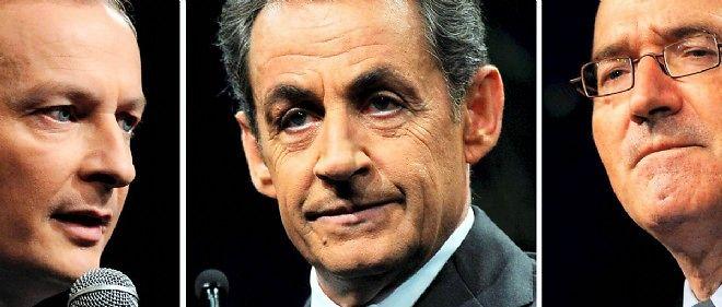 Les adhérents UMP ont élu Nicolas Sarkozy à la tête du parti.