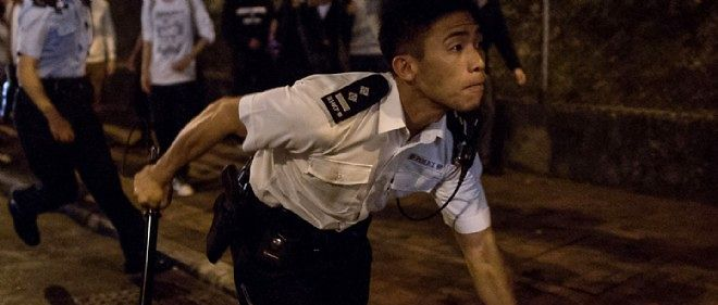 Un policier chinois. Photo d'illustration.