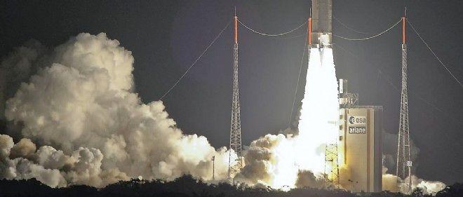 Le lanceur Ariane 5, le 29 juillet 2014.