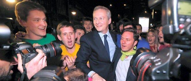 Bruno Le Maire a presque obtenu 30 % des voix à l'élection pour déterminer le président de l'UMP.