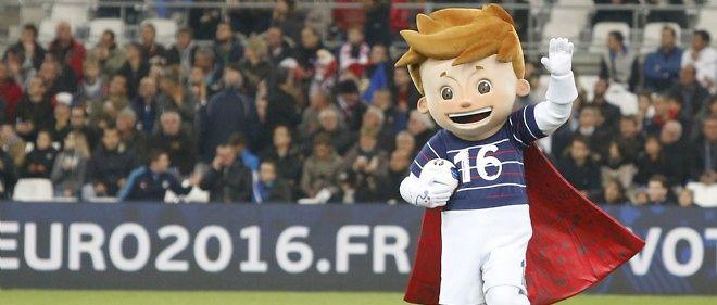 La mascotte de l'Euro 2916 s'appelle finalement Super Victor.