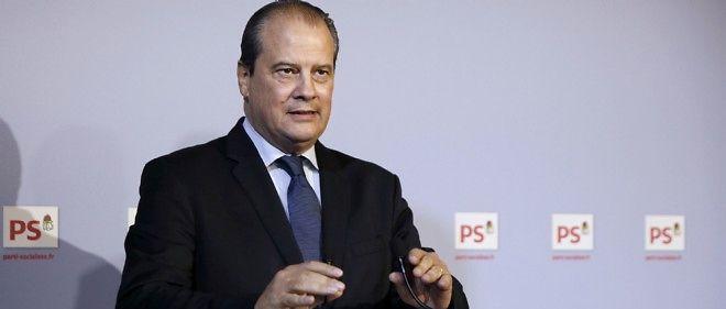 Jean-Christophe Cambadélis lors d'une conférence de presse le 23 octobre 2014.
