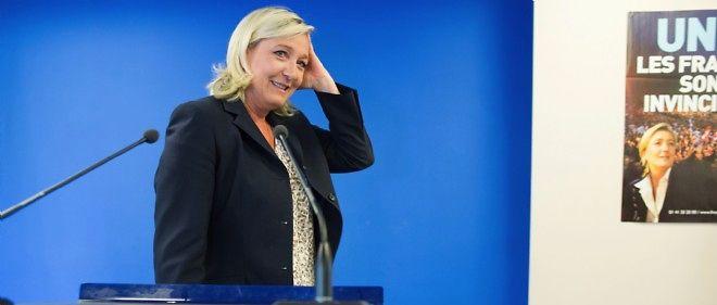 Marine Le Pen, seule candidate à sa succession, a été élue dimanche pour un second mandat à la tête du Front national.