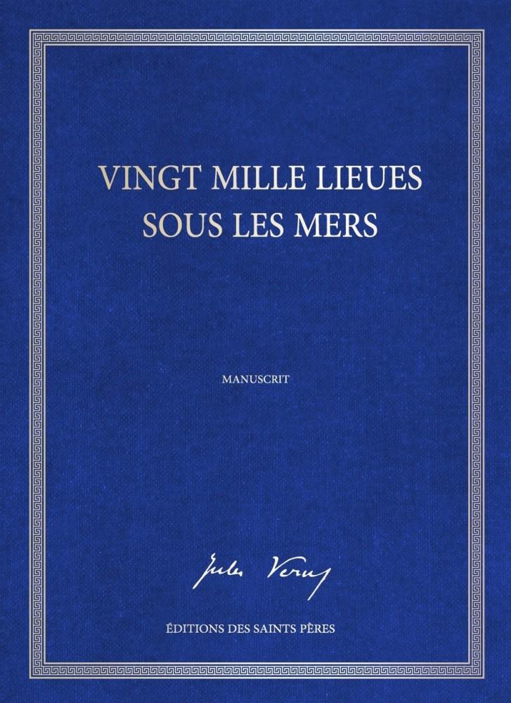 L'édition en tirage limité du manuscrit de Jules Verne ©  Éditions des Saint-Pères