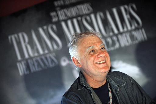 Jean-Louis Brossard, programmateur des Trans Musicales, le 3 décembre 2011 à Rennes © Thomas Bregardis AFP/Archives