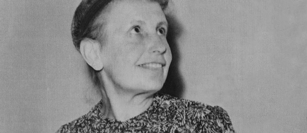Anna Freud, le 31 juillet 1957.