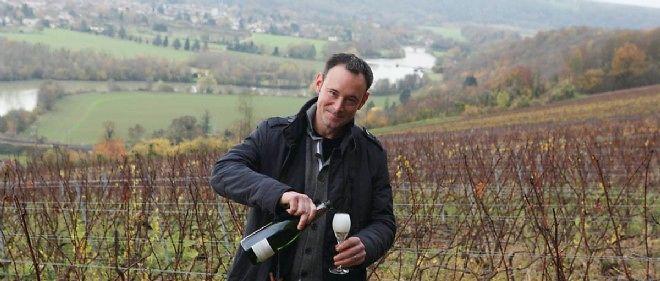 Jérôme Bourgeois, à la tête de la maison Bourgeois-Diaz, est passé à la biodynamie en 2009.
