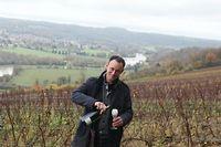 Jérôme Bourgeois, à la tête de la maison Bourgeois-Diaz, est passé à la biodynamie en 2009. ©Louise Oligny