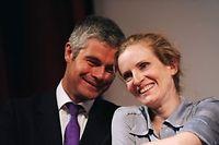 Ligne politique, Union euroépéenne, mariage gay... Sur le plan des idées, tout oppose le nouveau secrétaire général de l'UMP Laurent Wauquiez et la numéro du parti Nathalie Kosciusko-Morizet.