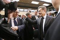 Nicolas Sarkozy, fraîchement élu à la présidence de l'UMP, prône le rassemblement de la